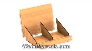 Twin Pamphlet Holder: 3d Assembly Animation (720hd)