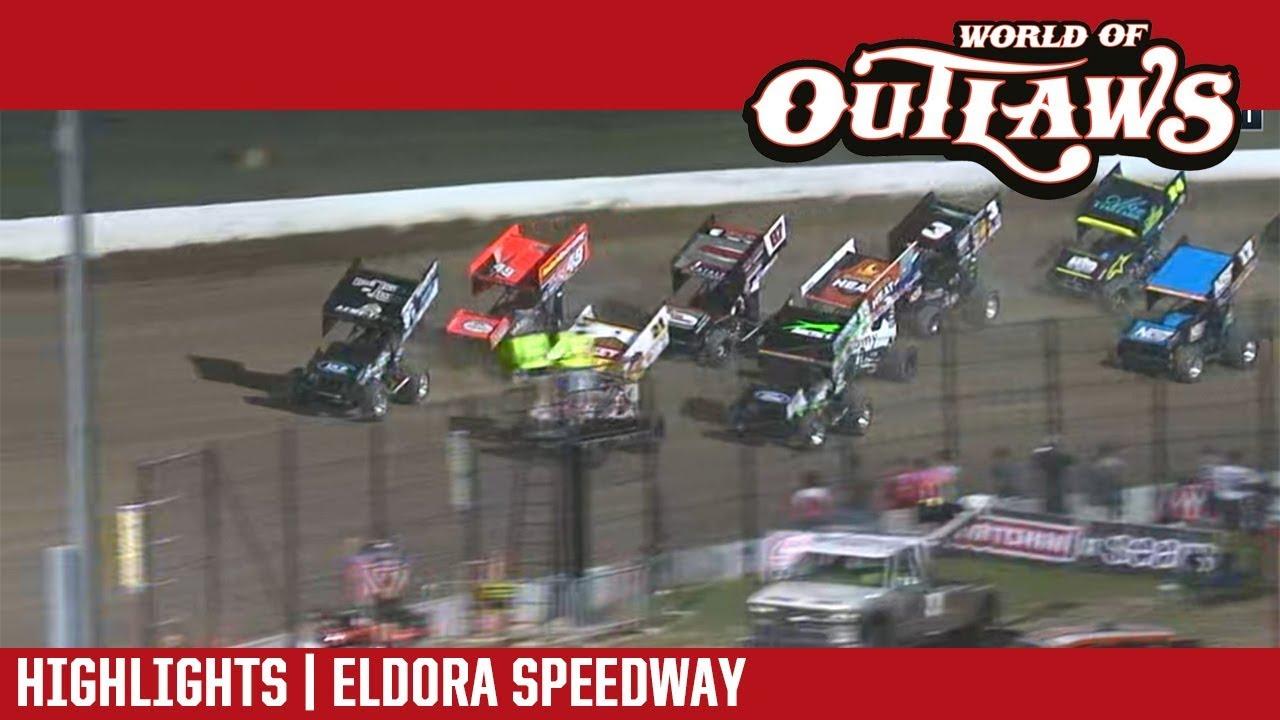 world-of-outlaws-craftsman-sprint-cars-eldora-speedway-july-13-2018-highlights