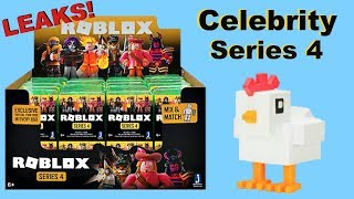 [LEAK] New Blind Boxes! Roblox Toys Celebrity Series 4