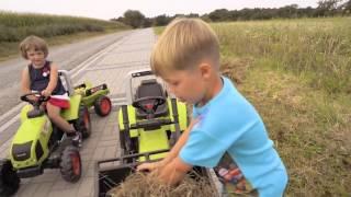 zabawki dla dzieci,, Traktorek jeździk dla dzieci Kubota M7151 Premium FALK 3060,  Falk Zabawki