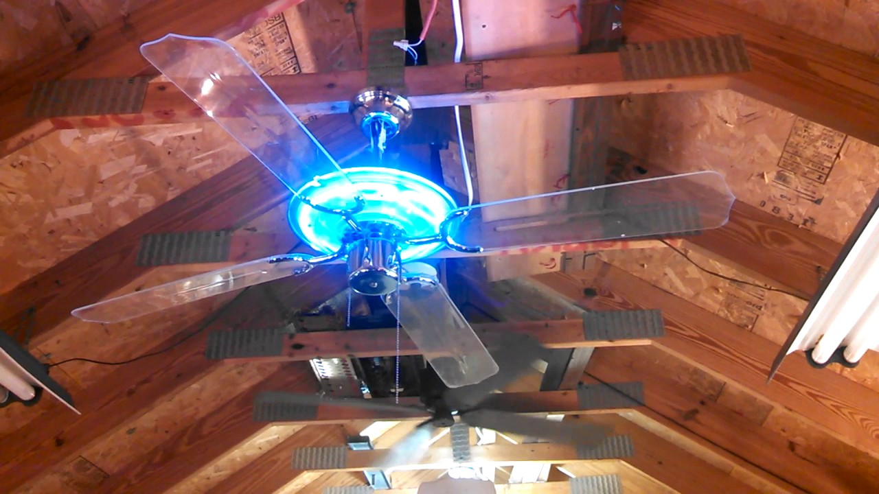 Beverly Hills Fan Co Design House Neon Ceiling Outtake