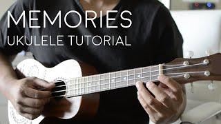 Memories by Maroon 5 Ukulele Tutorial