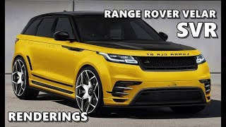 Range Rover Velar SVR - Speculative Renderings