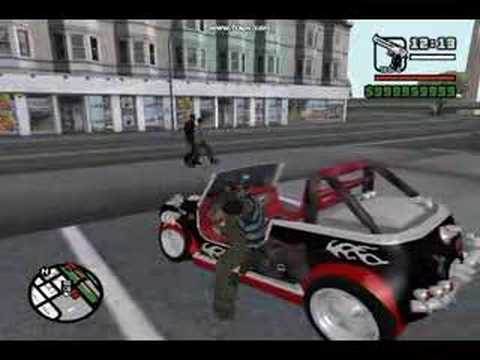 Gta Sa Modified Cars And Guns YouTube - Cool cars with guns