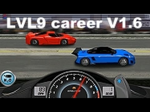 Drag Racing win level 9 career Porsche 9ff GT9-R with 1 tune setup V1.6