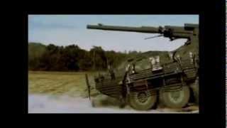 「機動戦闘車」の射撃をいろんな装甲車と比べてみた。