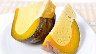 [thai Food] Custard Steamed In Pumpkin (sang Ka Ya Fak Thong)