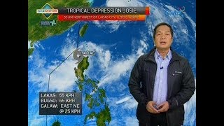 Weather update as of 5:40 p.m. (July 21, 2018)