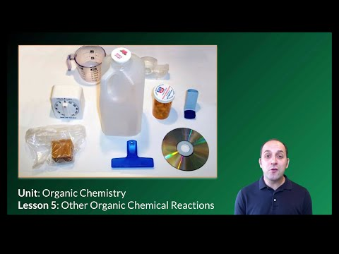 K-Chem 13.5: Other Organic Chemical Reactions