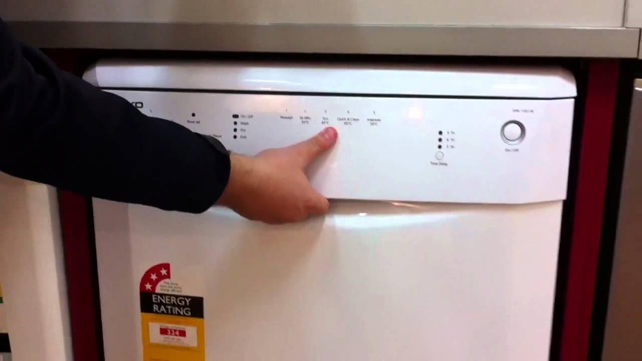BEKO Dishwasher DFN 1503 W  YouTube