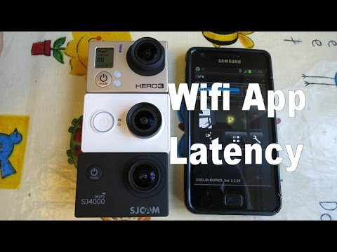 wifi app and latency test gopro vs sj4000 vs xiaomi yi. Black Bedroom Furniture Sets. Home Design Ideas