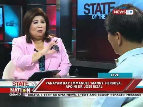 SONA - Panayam ni Jessica Soho sa apo ni Rizal na si Manny Herbosa 6/16/11