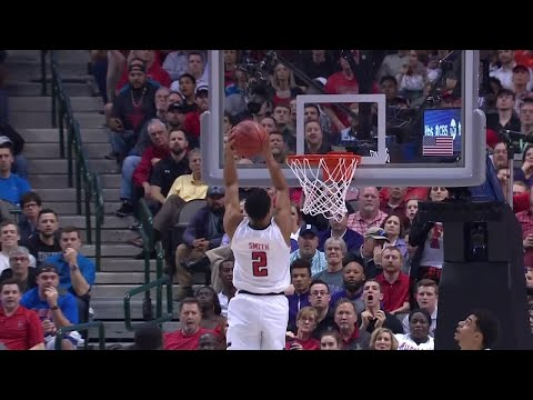 S.F. Austin vs. Texas Tech: Zhaire Smith throws down a 360 alley-oop