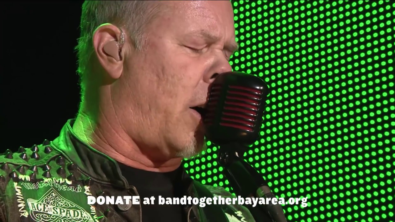 Metallica - Live at The Band Together Bay Area Benefit Concert (2017 ...