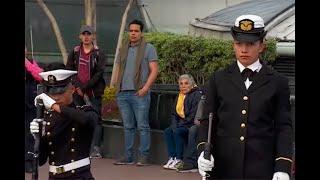 Las mujeres de la Armada que hacen parte de celebración del Día de la Independencia