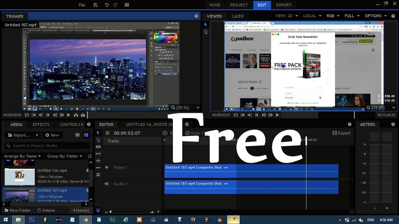 video editing software free download best video editing