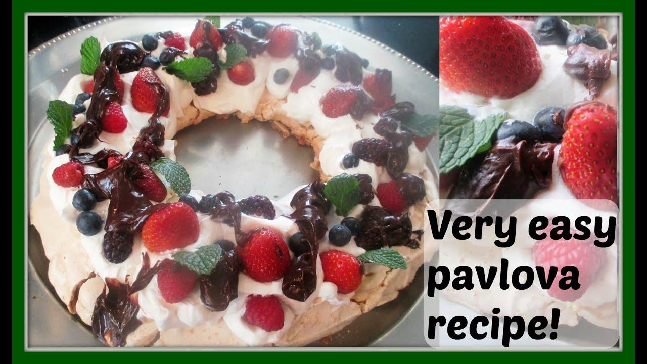 Christmas Pavlova Wreath This Berry Christmas Pavlova Looks And