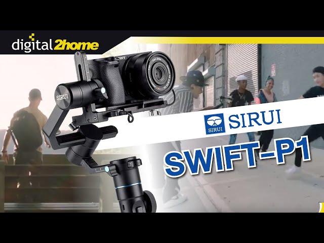 พรีวิว Sirui P1 Swift Gimbal กันสั่นสำหรับกล้อง แบบ 4 IN 1 ใช้ได้กับกล้อง สมาร์ทโฟน แอคชั่นแคม