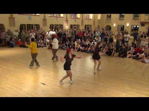7 Oct 2017 - Flying Camels Collegiate Shag Team Performance