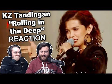"""KZ Tandingan - Rolling In The Deep"" Singers Reaction"