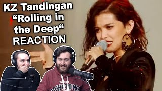 """KZ Tandingan - Rolling in the Deep"" Singers Reaction"