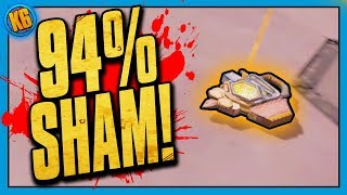 94% SHAM FINALLY!! - Live Reaction [Borderlands 2]