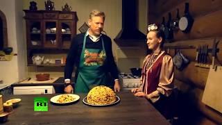 Петер Шмейхель готовит татарский чак-чак