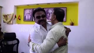 Kamal Hassan Meets DMDK Leader Vijayakanth in Chennai | Watch Video | nba 24x7