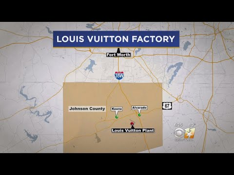 f2e7691d556 Louis Vuitton To Open Factory In Johnson County - YouTube