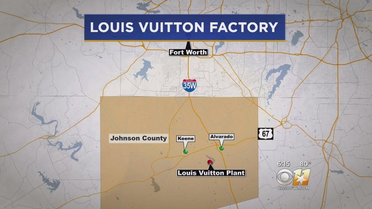 4057b092a4e Louis Vuitton To Open Factory In Johnson County