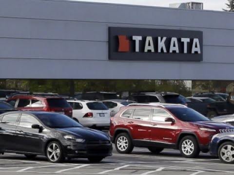 Takata Files For Bankruptcy Amid Air Bag Recalls