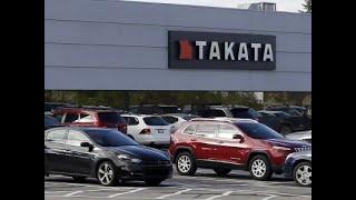Takata Files For Bankruptcy Amid Air Bag Recalls