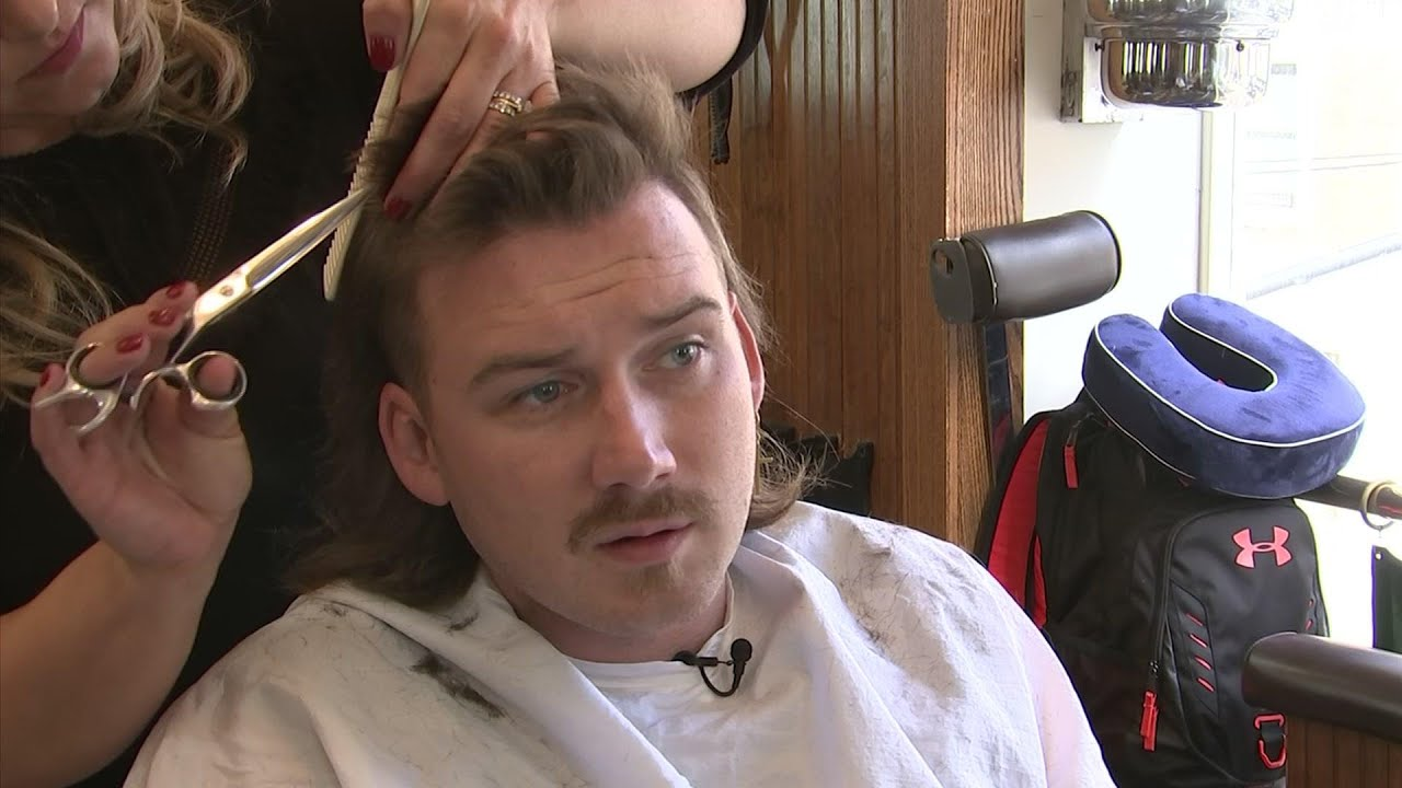 Morgan Wallen S Mullet Gets All The Attention Youtube