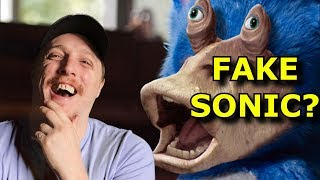 """Was the Sonic Movie Trailer """"FAKE"""" From the Start?"""