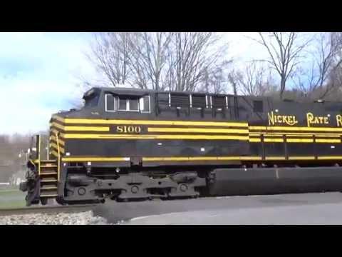 Railfanning At: Bluefield West/Virginia, 11/6-8 2015. NS 8100 & 8104!
