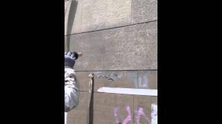 Ротационная микро очистка гранита от граффити(Мягкая очистка специальной технологией Торнадо., 2015-06-23T19:08:40.000Z)