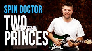 Spin Doctors - Two Princes (como tocar - aula de guitarra)