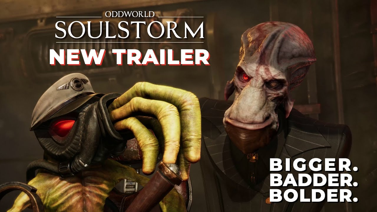 Oddworld: Soulstorm New Trailer