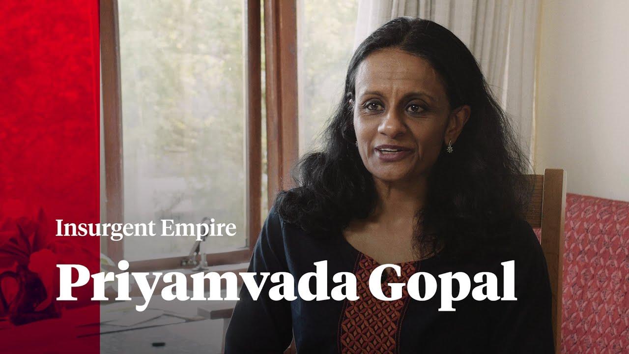 Insurgent Empire | Priyamvada Gopal in conversation with Verso ...