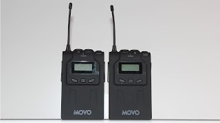 Movo WMIC70 Wireless 48-Channel UHF Lavalier Microphone System [Review]