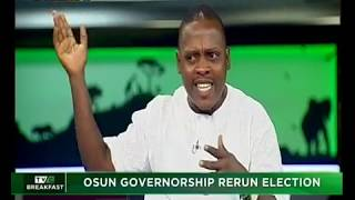 TVC Breakfast 27th September 2018  Osun governorship rerun election