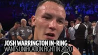 Josh Warrington reveals who he wants to fight next after fantastic TKO win