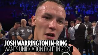 Josh Warrington reveals who he wants to fight next after fantastic TKO win