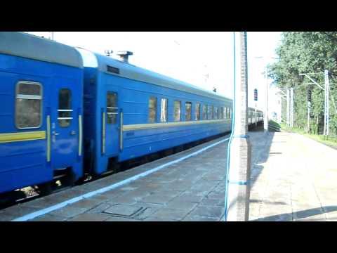 EP07-1019 z pociągiem międzynarodowym ,,Kiev-express'' HD