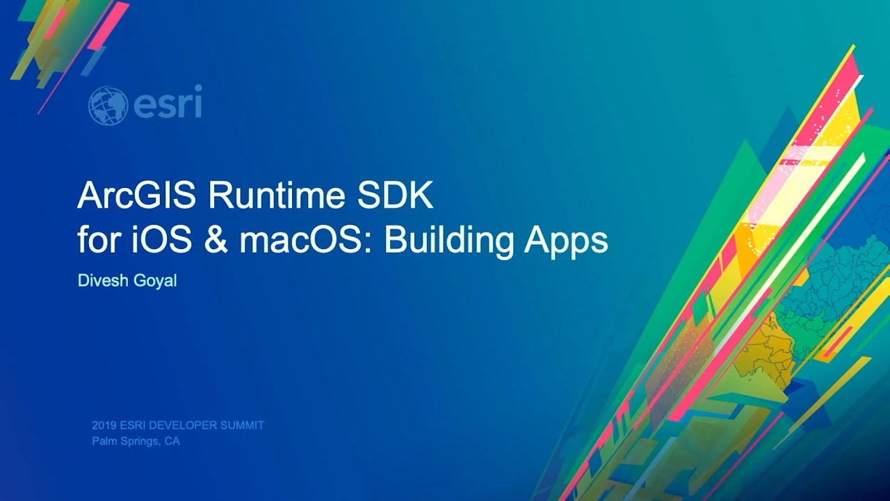 ArcGIS Runtime SDK for iOS and macOS: Building Apps