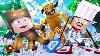 Minecraft Daycare - FINDING BIGFOOT! W/ MOOSECRAFT (Minecraft Kids Roleplay)