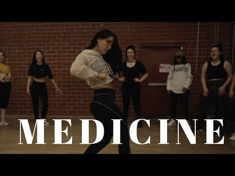 Medicine - Jennifer Lopez Ft French Montana DANCE VIDEO   Dana Alexa Choreography