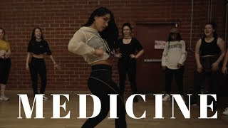 Medicine - Jennifer Lopez ft French Montana DANCE VIDEO | Dana Alexa Choreography