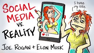 Social Media is Destroying Us - Joe Rogan & Elon Musk