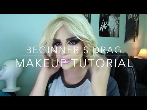 beginner's drag queen makeup tutorial  youtube